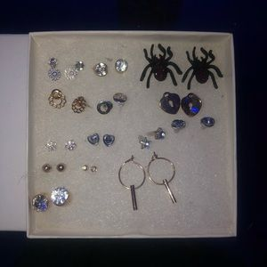 Earring collection brand new never used